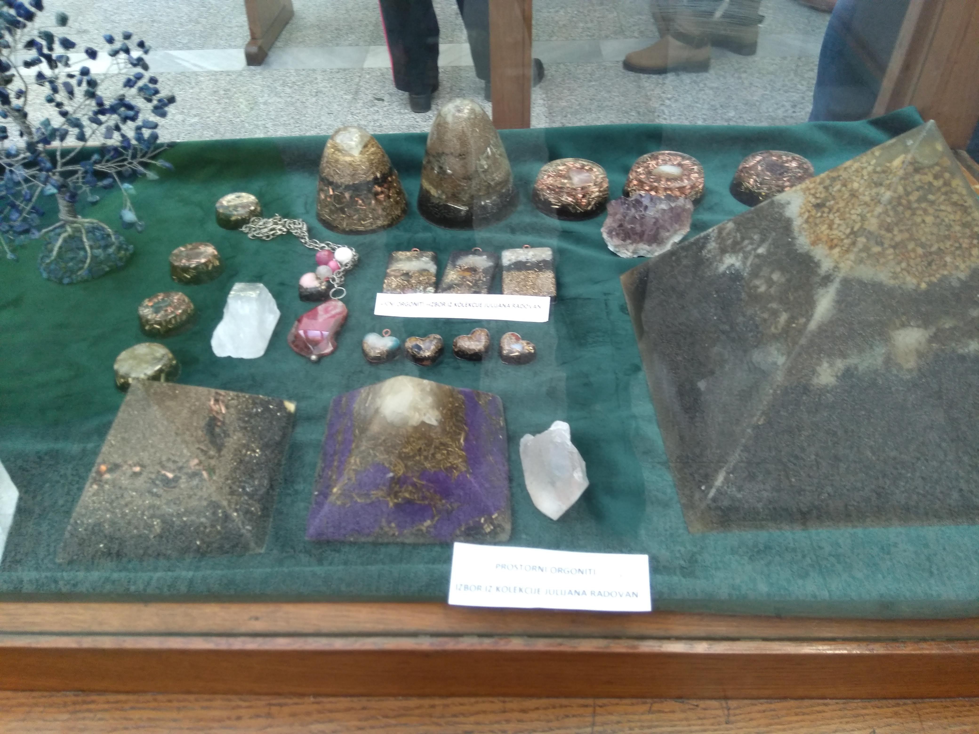 Eksponati u muzeju Vojvodine